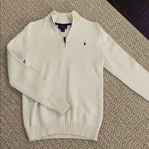 Ralph Lauren 1/4 zip sweater